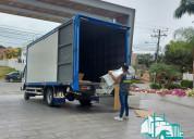 Servicios de mudanzas fletes camiones